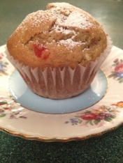 Delicious muffins with hints of lime, bananas and rum.