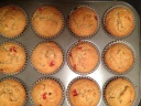 Wow does the house smell delicious when the oven opens up to these muffins!