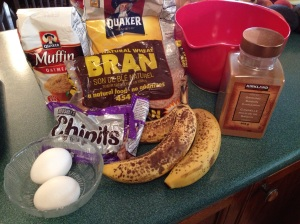 All this plus a healthy serving of milk goes into these muffins