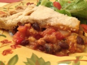 Black Bean Pepper Pie 1