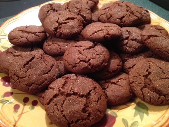 The finished cookies - ready to pack in lunches or enjoy with a cup of tea