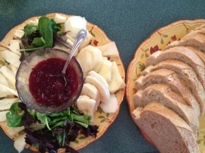 Turkey Brie sandwich ingredients