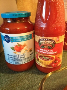 Spaghetti sauce and tomato sauce...not the same thing!