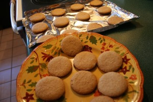 Hmmm, yes, I did need a sample when they were fresh out of the oven because my kitchen smelled so darn good!
