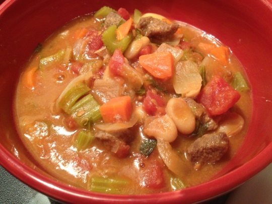 Simmer in your crock pot for hours and enjoy a hearty meal at the end of the day!